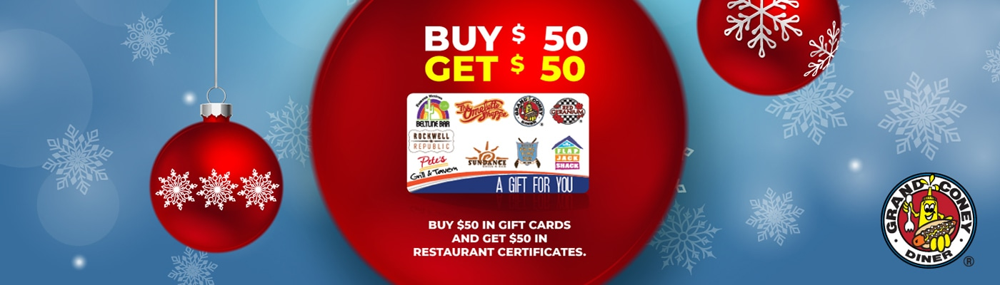 Grand Coney Gift Card Promotion